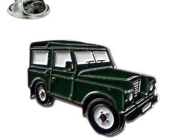 4WD Land Rover Styled Vehicle pin badge/ lapel badge with clips on back