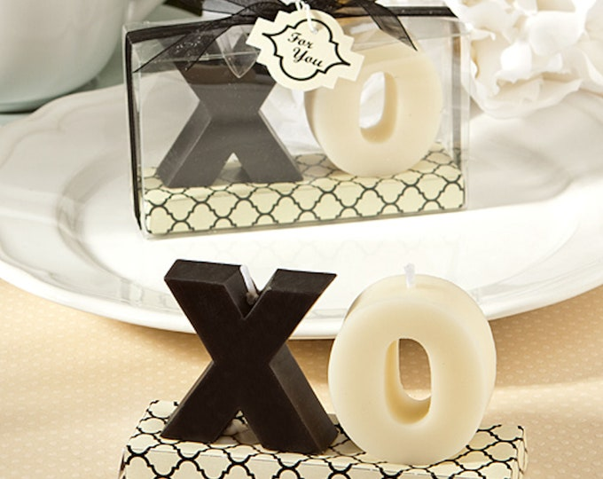 XO Candles 1 pair, in gift box