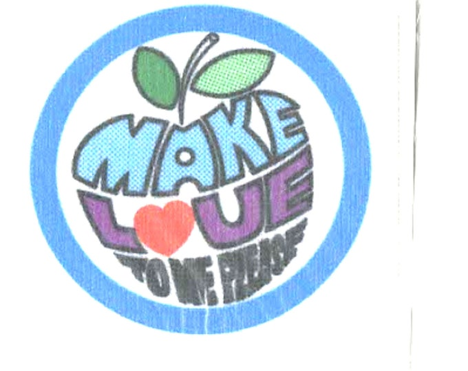 fun comment screenprinted patch ideal for all clothing iron on sew on patch