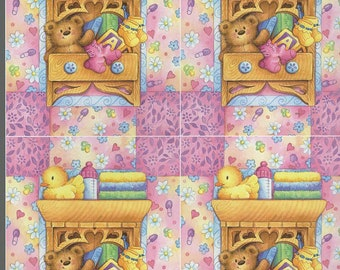 childs bedroom pink 4 on sheet decoupage sheet high quality printed on quality paper ideal cards etc