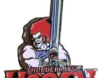 thundercats licensed very detailed pin badge,  Lapel Pin Badge in gift box