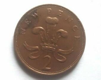 Rare 2p New Pence Coin 1971 Pre Decimal