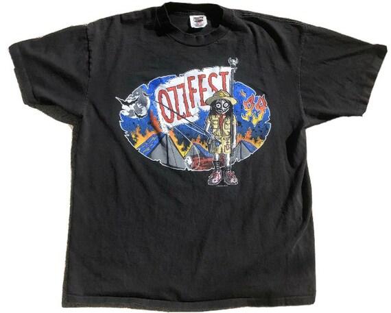 Vintage Ozzfest 1999 t shirt