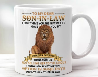 You/'re My Favorite Son In Law Keep That Sh*t Up  Mug Son In Law Mug Funny Son In