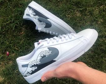 Nike blazer custom shoes | Etsy