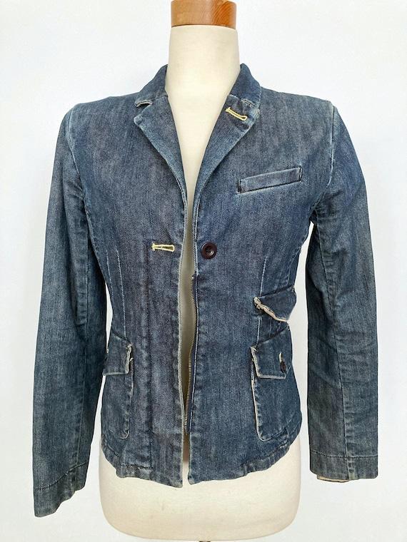 1990s LOUIE Denim Women Jacket