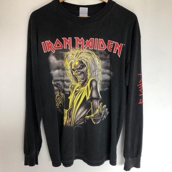 "Vintage Iron Maiden ""Killers"" Long sleeve - image 1"