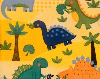 Baby Size Dinosaur No Sew Fleece Blanket