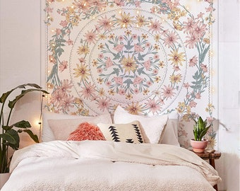 Beautiful flower Wall Tapestry for Living Room,Bedroom,Dorm