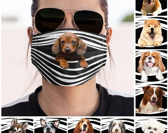 Dog Mask Etsy