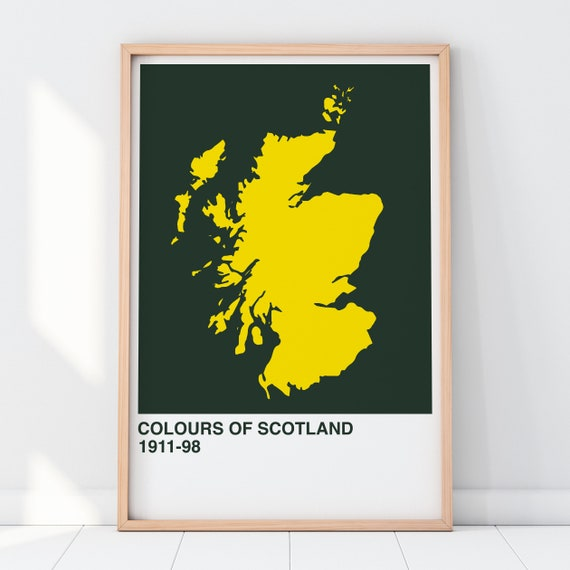 Colours Of Scotland Collection: Wreck The Hoose Juice Art Print, Scottish Map Print, Scottish Wall Art