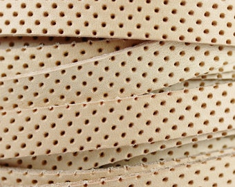 PERFORATED GENUINE SUEDELight OliveLazer CutHeavy CalfskinBack Side same colorThickness 1.6mm Handbag Leather skinsPerforated leather
