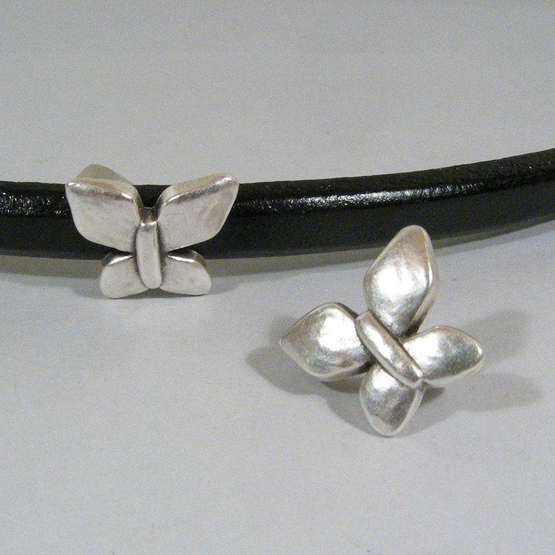 Antique Silver Choose Your Quantity Regaliz Butterfly Spacers SP6