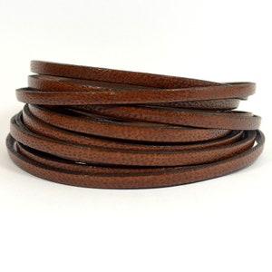 L5F-C1 Choose Your Length Black Camel Leather