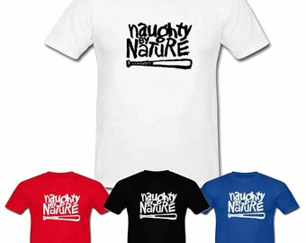 rare Vintage! NAUGHTY BY NATURE 19 III Rap Tee /'90s OG Gangsta gildan tshirt////