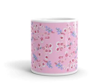 Mug Sakura blossoms
