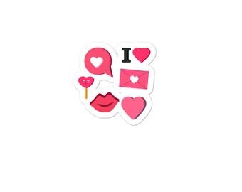 Love Bubble-free stickers