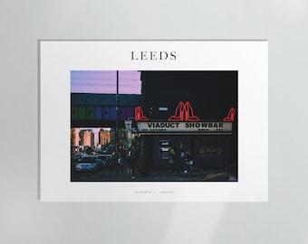 Viaduct Showbar, Leeds Photography Print