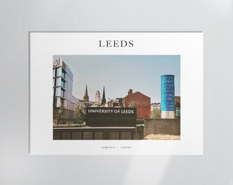 NEW - University of Leeds Photography Print