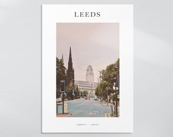 NEW - The Welcome Back View, University of Leeds Photography Print