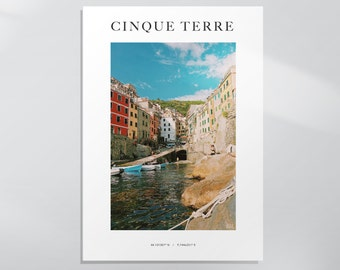 Riomaggiore, Cinque Terre, Italy Photography Print (find this item cheaper at www.millistrations.co.uk)