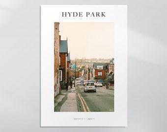 Royal Park Road - Hyde Park, Leeds Photography Print