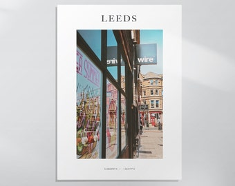NEW - Wire, Leeds Photography Print