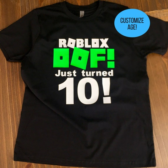 Roblox Security T Shirt Roblox Personalized Gift Birthday Shirts Oof Etsy