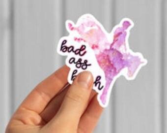 Bad Ass B!tch Sticker