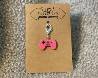 Gaming Bridle Charm - Cute! - Raspberry - Lavender - Peach - Pink - Blue