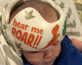 cranio helmet decal Plagiocephaly Star Band Stickers Sports team TEXAS RANGERS Docband Cranial Band Decal Design Stickers for Baby Helmet