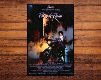 PRINCE 1984 Roger Nelson Purple Rain Swedish Poster Magazine OKEJ 1980s Vintage Rare
