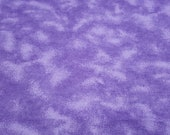 """Flannel Fabric - Lilac Tie Dye - 19"""" REMNANT - 100% Cotton Flannel"""