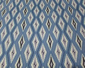 "Flannel Fabric - Santa Fe Diamond - 31"" REMNANT - 100% Cotton Flannel"