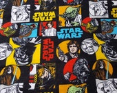 """Character Flannel Fabric - Star Wars Immortals II - 26"""" REMNANT - 100% Cotton Flannel"""
