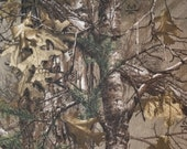 Realtree Camouflage - 100% Cotton Fabric - Select Your Size or By The Yard