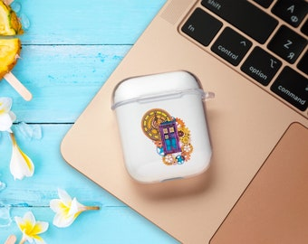 Personalised Airpods Pro Case Cover Case Cover for AirPods 2 Airpods Holder Case Wireless Earphones Carrying Apple AirPod case Keychain