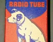 Vintage RCA Victor 7G7 1232 Vacuum Radio Tube Nipper The Dog Graphics NOS