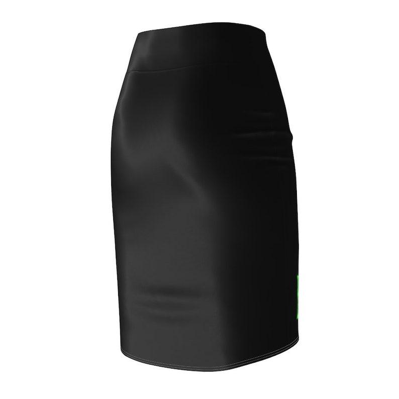 Pencil Skirt B.H GREEN/&BLACK