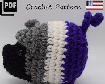 Asexual Pride Pig Crochet Pattern