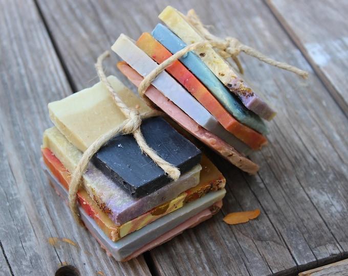 Soap Sampler Bundler | Natural hand and body soaps | Sensitive skincare bath treats | Vegan friendly products | Recipes vary