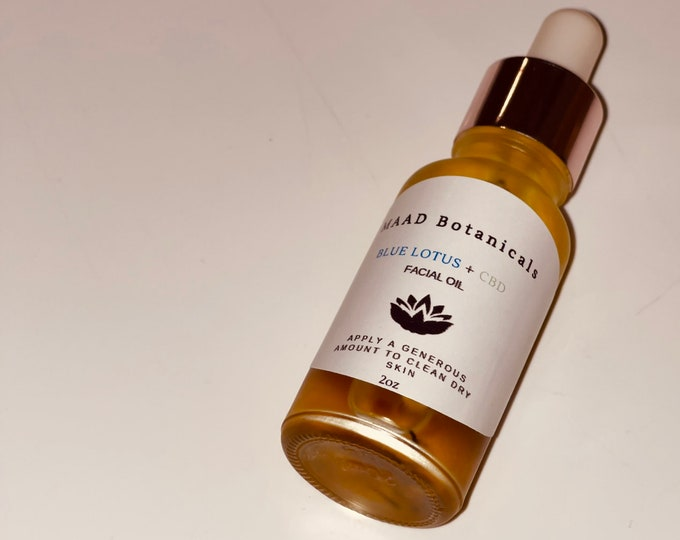 Blue Lotus Facial Serum and Body Oil Infused with Plant Medicine🍁