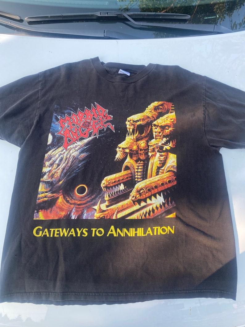 Morbid Angel tour tee