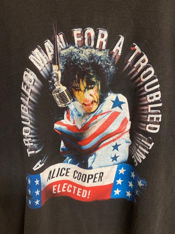 Vintage Alice Cooper Tee - image 2