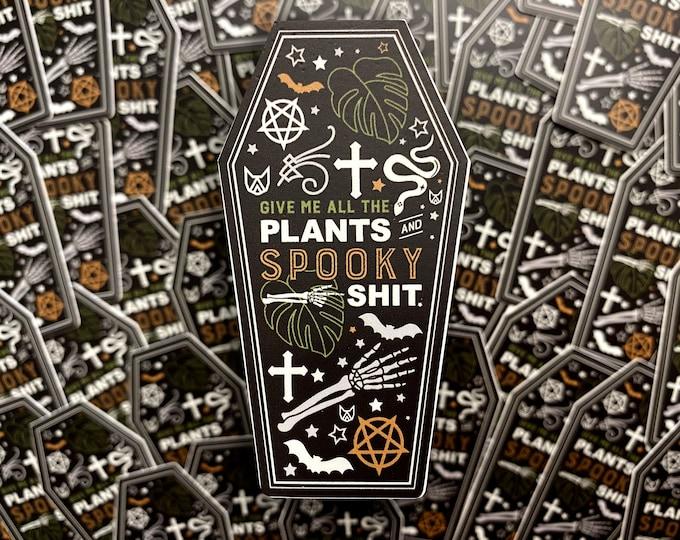 HALLOWEEN   Sticker - Plants & Spooky Shit