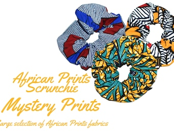 Mystery Scrunchie  Scrunchie   African Prints Scrunchie   Surprise Scrunchie   Christmas Gift Ideas   Gift for her