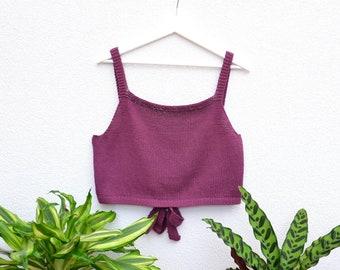 Knitting Pattern // While in Lisbon-Top // Summer top // Pattern // Knitting // English