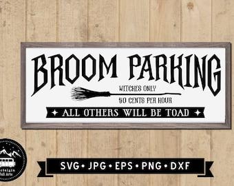Broom Parking Svg Etsy