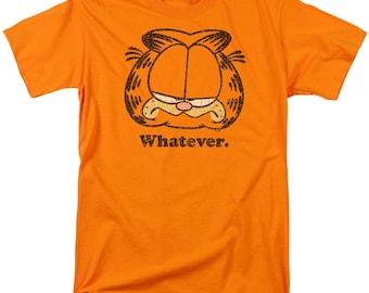 Garfield I Dont Do Mornings Adult Work Shirt