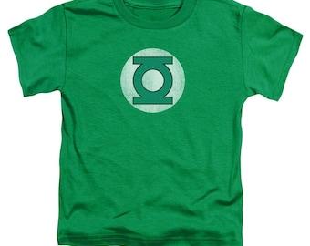 Green Lantern Pink Emblem Adult Tank Top